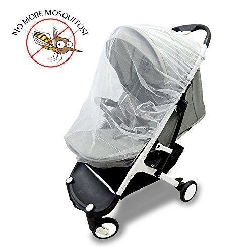 79306a606d Vitutech Universal Insektenschutz, Mückennetz für Babyschale, Kinderwagen  Buggy, Idealer Schutz vor Wespen &
