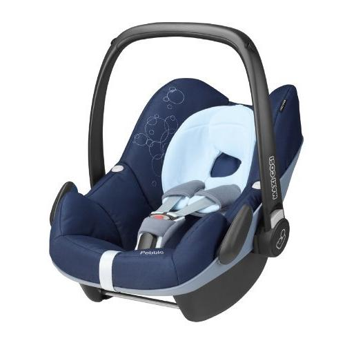 Maxi-Cosi Pebble Babyschale Gruppe 0+ (0-13 kg), Kollektion 2014, dress blue, mit Isofix